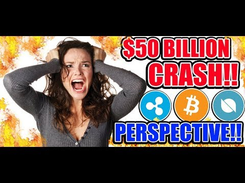 $50 BILLION MARKET CRASH – PERSPECTIVE [Cryptocurrency, Bitcoin, Altcoin News]