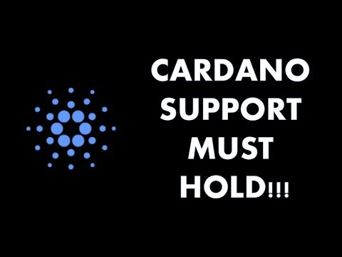 CARDANO (ADA) IS SITTING ON A GOOD SUPPORT!!!