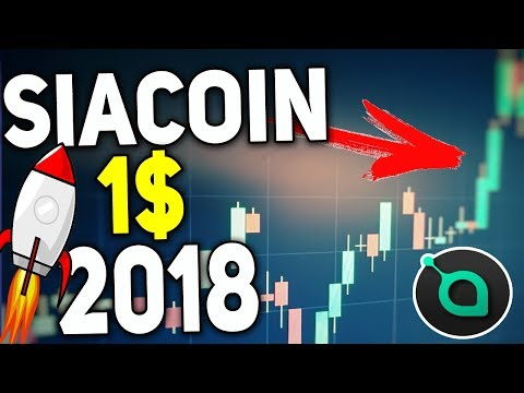 Siacoin to Rise in 2018 – $1 ! HODL – The Dark Horse Cryptocurrency