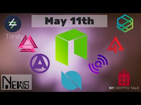 NEO News May 11th 2018 – Ontology | Trinity | Crypto Galaxy | Switcheo | Zeepin | QLink | Aphelion