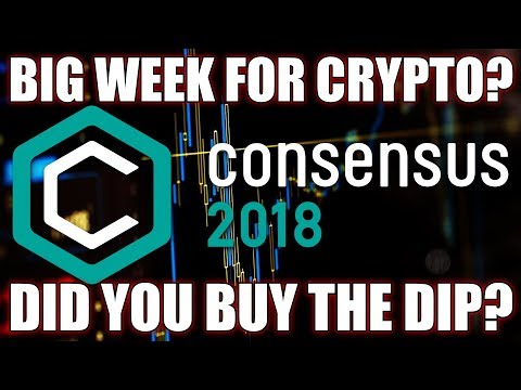 Steve Says Big Week For Cryptocurrency | Consensus 2018 NYC