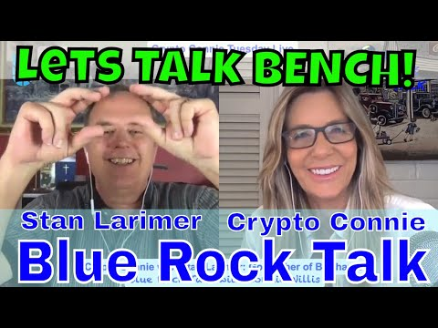 ? CRYPTO CONNIE Live with Stan Larimer. Lets talk BENCH!