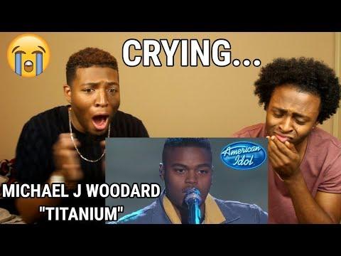 "Michael J. Woodard Sings ""Titanium"" by David Guetta & Sia – Top 14 – American Idol 2018  (WE CRIED!)"