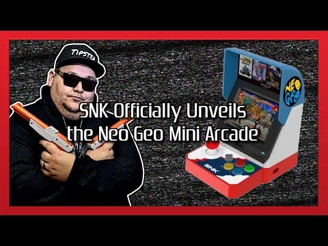 SNK Officially Unveils the Neo Geo Mini Arcade