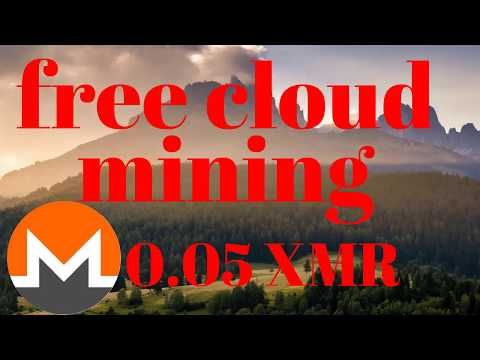 free monero cloud mining site 0.005 XMR signup bonus