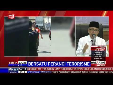 Tak Ada Alasan Apapun Membenarkan Aksi Terorisme