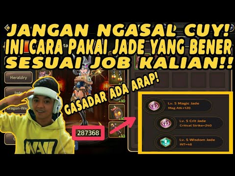 WOW ADA REZA ARAP!! Tips Memasang Jade Dengan Benar di Dragon Nest M | Dragon Nest Mobile Indonesia