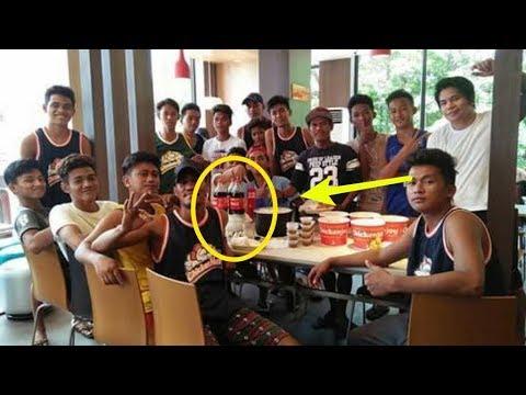 Pemuda² Makan di Restoran ini Sekilas Biasa, tapi usai Dicermati Ada Kejanggalan yg mengejutkan,!!!