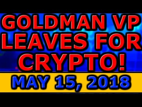 Goldman Sachs VP LEAVES For CRYPTOCURRENCY! 5th LARGEST Bank CREATING Its OWN Crypto! Upbit FUD!