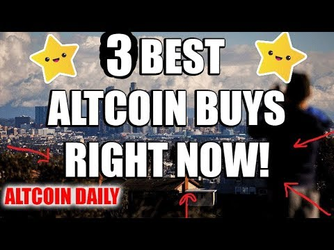 3 Best Altcoin Buying Opportunities RIGHT NOW!   [Cryptocurrency/Altcoin Best Investment]