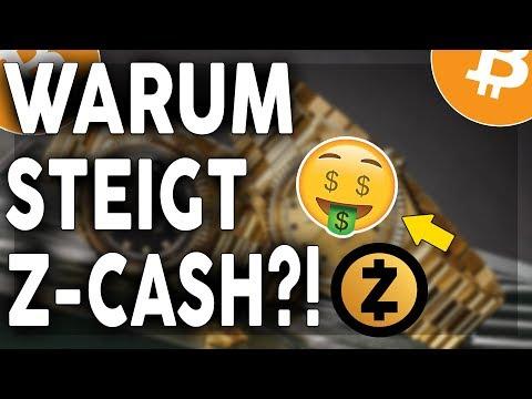 WARUM STEIGT Z-CASH (ZEC) STARK AN?!