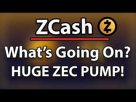 ZCASH (ZEC) MASSIVE PUMP & DUMP? – WHAT'S GOING ON?