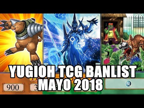BANLIST TCG Mayo 2018 ¡Hola Topo Neo Espacial! Adios al Pendulum | Yu-Gi-Oh!