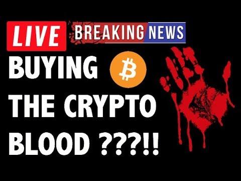 CRYPTO: BUY BLOOD?! CRYPTOCURRENCY,BITCOIN,LITECOIN,ETHEREUM,XRP RIPPLE,TRON TRX,EOS,BTC PRICE NEWS