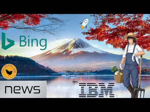 Bitcoin & Cryptocurrency News – New Ad Ban, IBM Token on Stellar, & Japan Blockchain Veggies