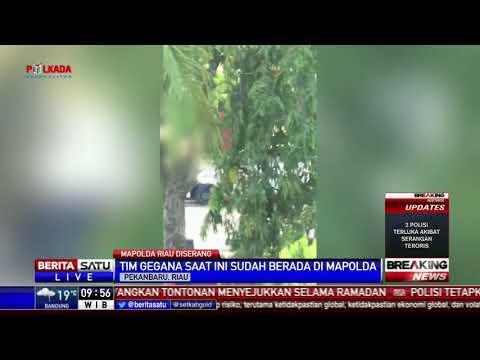 Diduga Ada Bahan Peledak di Dalam Mobil Penyerang Mapolda Riau