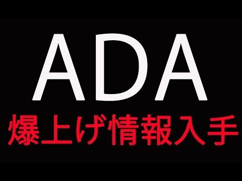 ADAコイン 爆上げ情報入手!! エイダコインの秘密を暴露!! 今が仕込み時!!