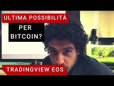 ULTIMA POSSIBILITÀ per bitcoin? Tradingview EOS