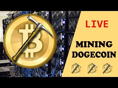 LIVE! Mining DOGECOIN 15 (Mh/s) – No Deposit (5000 DOGECOIN per DAY)