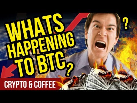 WHAT'S HAPPENING TO BITCOIN?! Why no moon? – CryptoCurrency Market News – Crypto Market Crash?