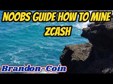 Noobs How to Mine ZCASH Nvidia
