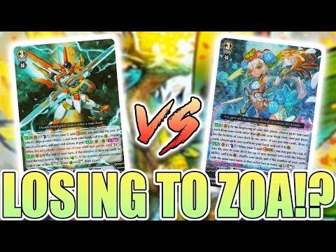 """Getting Scubbed By Zoa:"" Nova Grappler (Victor) Vs. Neo Nectar (Ahsha)! Cardfight!! Vanguard G"