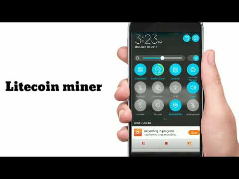 Litecoin mining in any Android / iphone  !!!