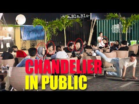 SIA – CHANDELIER – DANCE IN PUBLIC (PRANKINDONESIA)