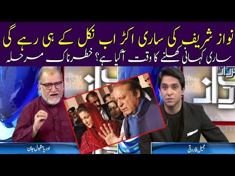 Most Dangerous Time For Nawaz Sharif | Harf E Raz | Neo News