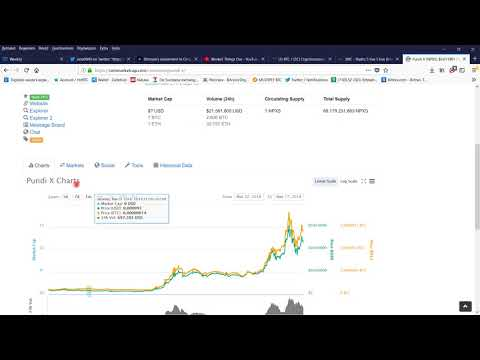 Update Peepcoin en Pundi X en Verge. En Bespreken we de markt + OmiseGO.