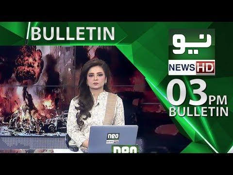 News Bulletin | 03:00 PM | 17 May 2018 | Neo News HD
