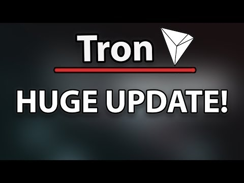 TRON (TRX) HUGE UPDATE! Did You Know This? New Logo, New Site, :o
