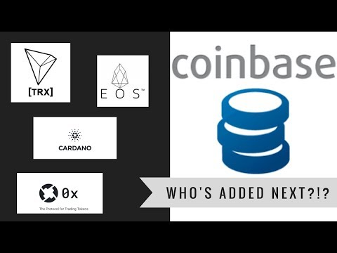 COULD THIS HAPPEN?! EOS, CARDANO, OR TRON ADDED TO COINBASE?!