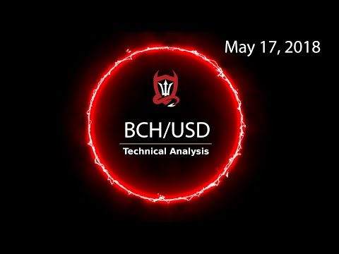 Bitcoin Cash Technical Analysis (BCH/USD) : Two drop in…  [05/17/2018]