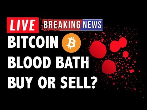 CRYPTO: BUY BITCOIN BLOOD?! CRYPTOCURRENCY,LITECOIN,ETHEREUM,XRP RIPPLE,TRON TRX,EOS,BTC PRICE NEWS