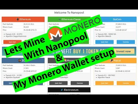 "Monero Mining on Nanopool tutorial. Fix for ""all pools"" error in Description."
