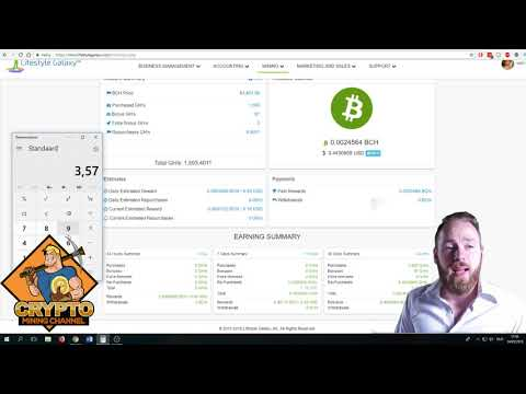 Bitcoin Cash Mining in May 2018 W2 | Bitcoin Cash Contract Live!