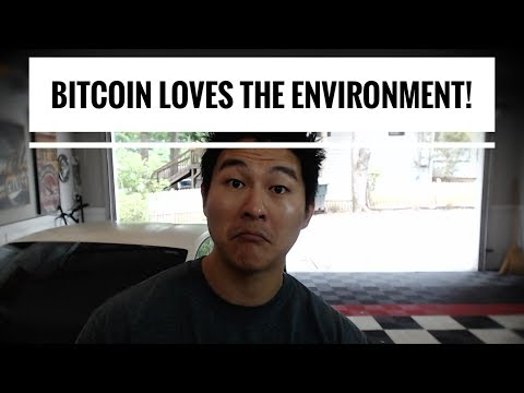 Bitcoin Mining?   Still Not an Environmental Issue!