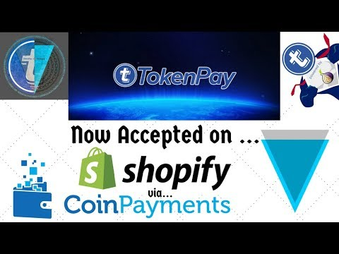 TokenPay (TPAY) AND Verge (XVG) Now Accepted on Shopify, Exchange listings, And Partnership Updates!