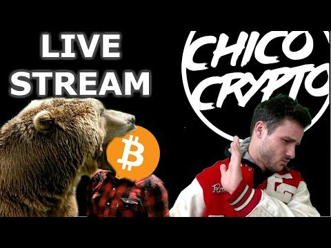 Bear Market Live Stream | Bitcoin Rebound 13k? | $NEO Smart Economy Woes| $ICX $VEN $ELA
