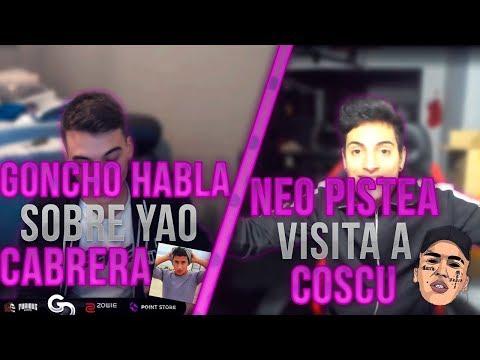 NEO PISTEA VISITA A COSCU | GONCHO HABLA SOBRE YAO CABRERA