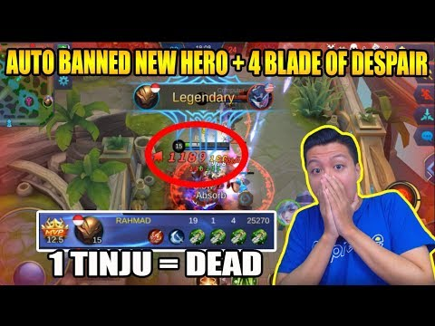 GILA 4 BLADE OF DESPAIR NEW HERO AULARD GA ADA OBATNYA – Mobile Legend Bang Bang