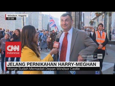 Ada 'Mr.Bean' di Meriahnya Penikahan Harry – Meghan