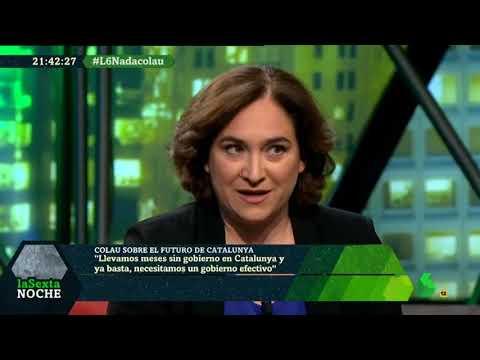 """1 / ? """"la Sexta Noche"""" 19-05-2018: #L6NAdaColau Entrevista Ada Colau con la actualidad política…"""