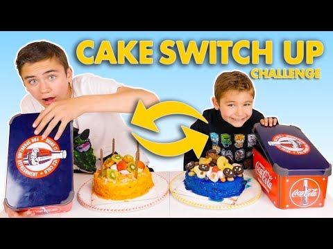 CAKE SWITCH UP CHALLENGE !!! – Swan VS Néo