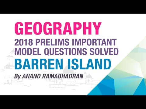 BARREN ISLAND | PRELIMS IMPORTANT MODEL QUESTION SOLVED | GEOGRAPHY | NEO IAS
