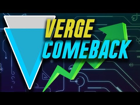 Verge Coin Comeback? – XVG New wallet and Bitcoin Tie