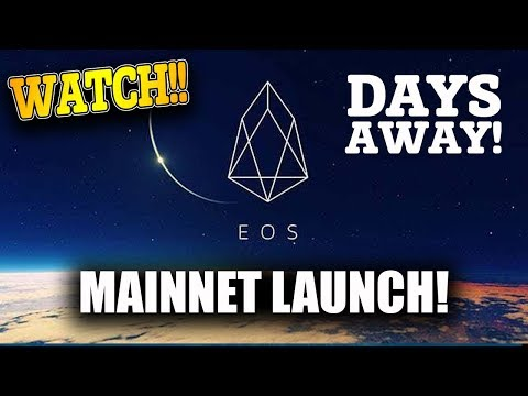 #EOS Mainnet GROUNDBREAKING Launch is Days away! Are you ready for it? ETHEREUM KILLER!!!