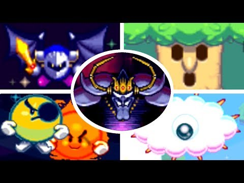 Kirby Mass Attack – All Bosses (Strato Patrol EOS)
