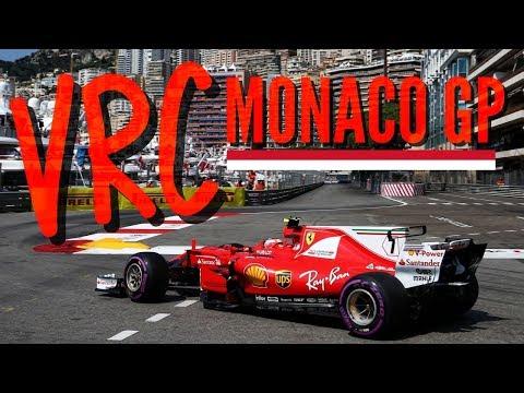 VRC Monaco GP F1 2017 PS4 Live